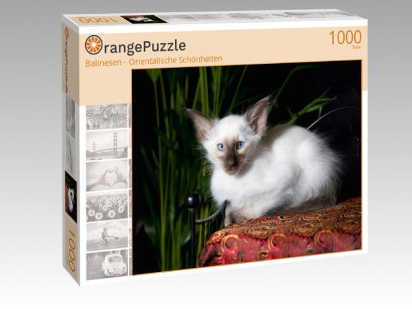 """Puzzle Motiv """"Balinesen - Orientalische Schönheiten"""" - Puzzle-Schachtel zu 1000 Teile Puzzle"""