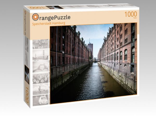 """Puzzle Motiv """"Speicherstadt Hamburg"""" - Puzzle-Schachtel zu 1000 Teile Puzzle"""