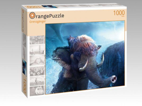 "Puzzle Motiv ""Grenzgänger"" - Puzzle-Schachtel zu 1000 Teile Puzzle"