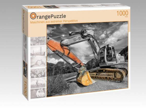 """Puzzle Motiv """"Maschinen aus extremer Perspektive"""" - Puzzle-Schachtel zu 1000 Teile Puzzle"""
