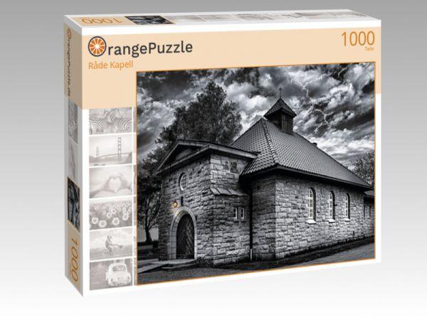 """Puzzle Motiv """"Råde Kapell"""" - Puzzle-Schachtel zu 1000 Teile Puzzle"""