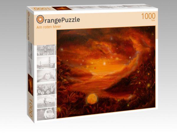 """Puzzle Motiv """"Am roten Meer"""" - Puzzle-Schachtel zu 1000 Teile Puzzle"""