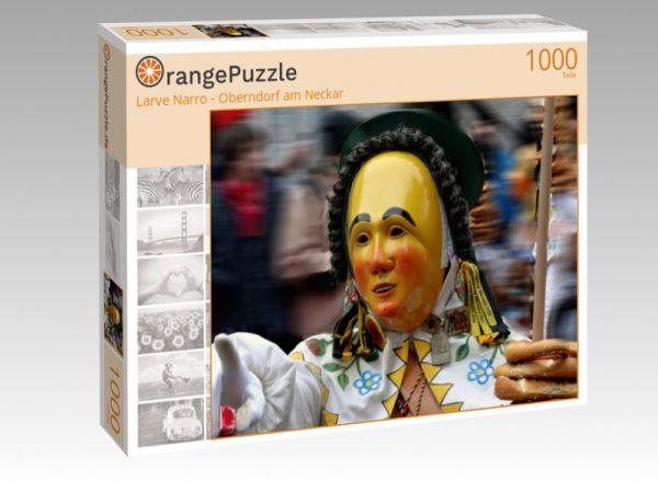 """Puzzle Motiv """"Larve Narro - Oberndorf am Neckar"""" - Puzzle-Schachtel zu 1000 Teile Puzzle"""