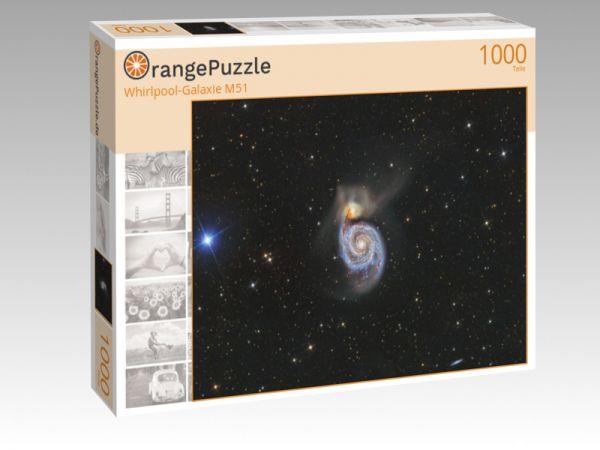 """Puzzle Motiv """"Whirlpool-Galaxie M51"""" - Puzzle-Schachtel zu 1000 Teile Puzzle"""