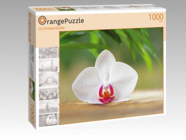 """Puzzle Motiv """"Orchideenblüte"""" - Puzzle-Schachtel zu 1000 Teile Puzzle"""