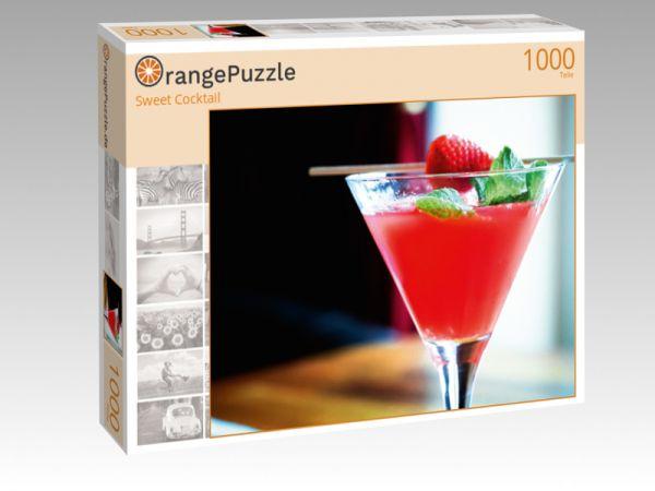 """Puzzle Motiv """"Sweet Cocktail"""" - Puzzle-Schachtel zu 1000 Teile Puzzle"""