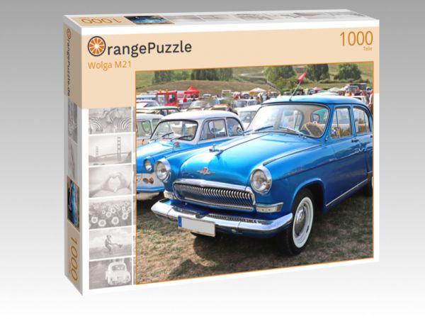"""Puzzle Motiv """"Wolga M21"""" - Puzzle-Schachtel zu 1000 Teile Puzzle"""