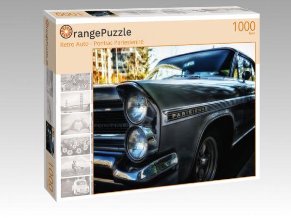 """Puzzle Motiv """"Retro Auto - Pontiac Pariesienne"""" - Puzzle-Schachtel zu 1000 Teile Puzzle"""