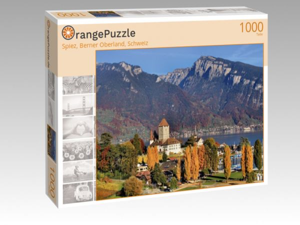 """Puzzle Motiv """"Spiez, Berner Oberland, Schweiz"""" - Puzzle-Schachtel zu 1000 Teile Puzzle"""