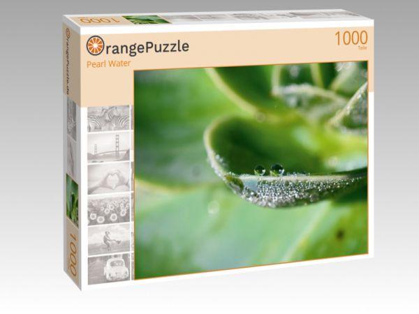 """Puzzle Motiv """"Pearl Water"""" - Puzzle-Schachtel zu 1000 Teile Puzzle"""