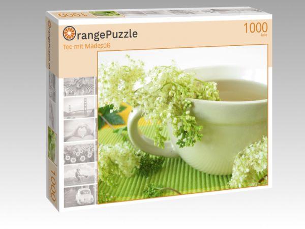 "Puzzle Motiv ""Tee mit Mädesüß"" - Puzzle-Schachtel zu 1000 Teile Puzzle"