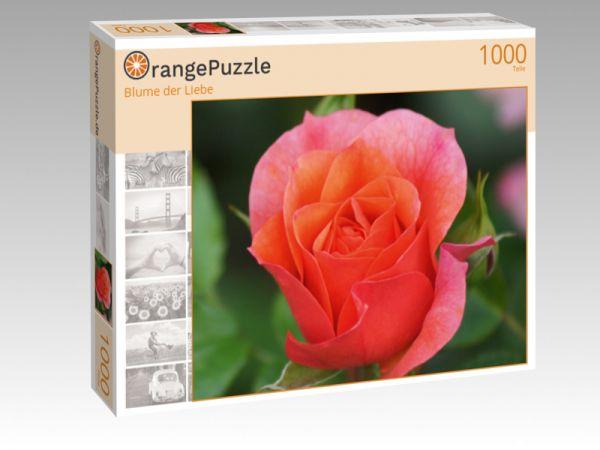"""Puzzle Motiv """"Blume der Liebe"""" - Puzzle-Schachtel zu 1000 Teile Puzzle"""