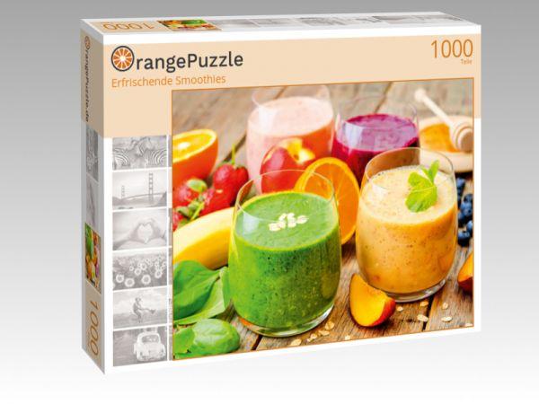"""Puzzle Motiv """"Erfrischende Smoothies"""" - Puzzle-Schachtel zu 1000 Teile Puzzle"""