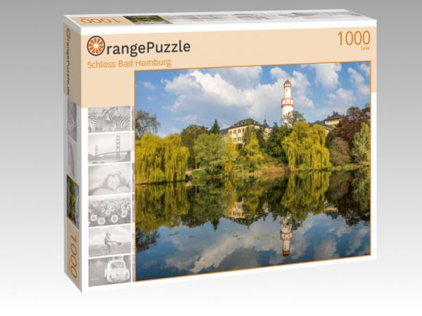"Puzzle Motiv ""Schloss Bad Homburg"" - Puzzle-Schachtel zu 1000 Teile Puzzle"