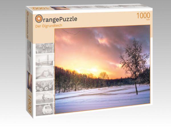 "Puzzle Motiv ""Der Ölgrundteich"" - Puzzle-Schachtel zu 1000 Teile Puzzle"