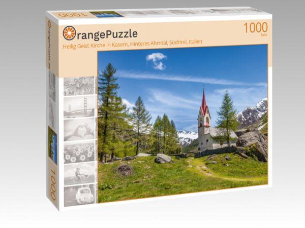 """Puzzle Motiv """"Heilig Geist Kirche in Kasern, Hinteres Ahrntal, Südtirol, Italien"""" - Puzzle-Schachtel zu 1000 Teile Puzzle"""