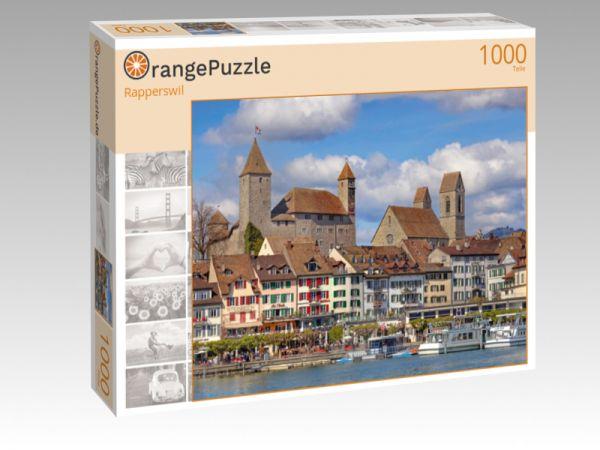 """Puzzle Motiv """"Rapperswil"""" - Puzzle-Schachtel zu 1000 Teile Puzzle"""