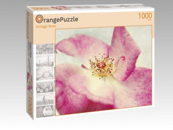 """Puzzle Motiv """"Vintage Rose"""" - Puzzle-Schachtel zu 1000 Teile Puzzle"""