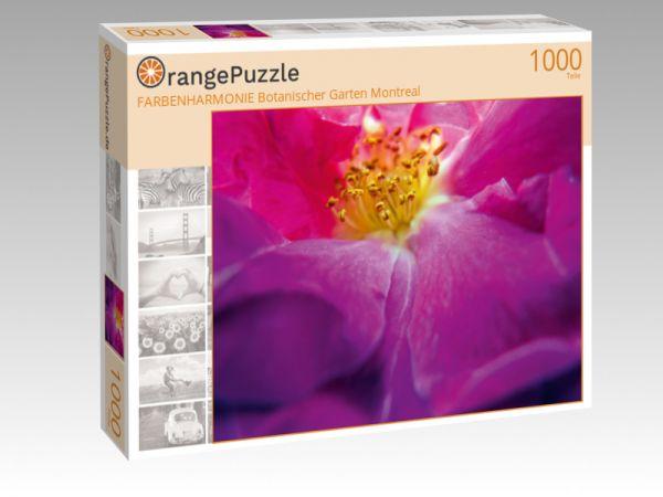 """Puzzle Motiv """"FARBENHARMONIE Botanischer Garten Montreal"""" - Puzzle-Schachtel zu 1000 Teile Puzzle"""