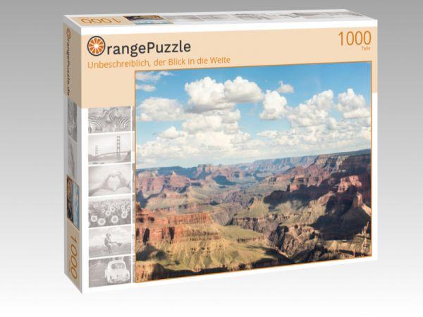 """Puzzle Motiv """"Unbeschreiblich, der Blick in die Weite"""" - Puzzle-Schachtel zu 1000 Teile Puzzle"""