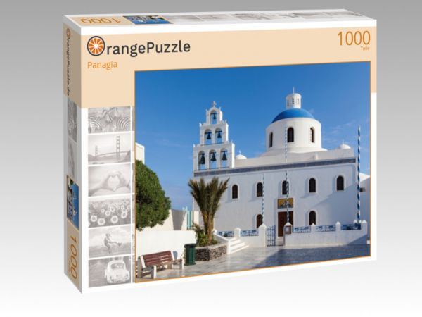 """Puzzle Motiv """"Panagia"""" - Puzzle-Schachtel zu 1000 Teile Puzzle"""
