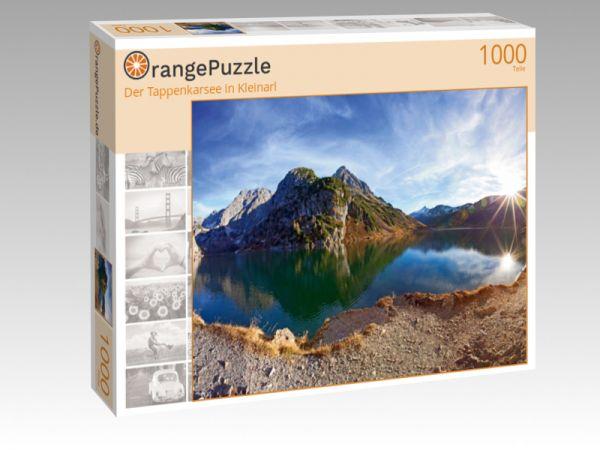 """Puzzle Motiv """"Der Tappenkarsee in Kleinarl"""" - Puzzle-Schachtel zu 1000 Teile Puzzle"""