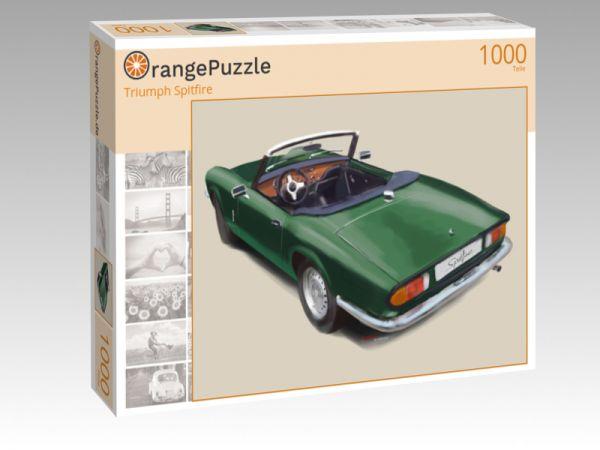 """Puzzle Motiv """"Triumph Spitfire"""" - Puzzle-Schachtel zu 1000 Teile Puzzle"""
