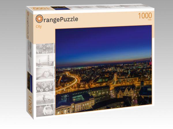 """Puzzle Motiv """"City"""" - Puzzle-Schachtel zu 1000 Teile Puzzle"""
