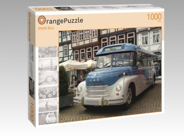 puzzle motive bus orangepuzzle profibilder puzzles. Black Bedroom Furniture Sets. Home Design Ideas