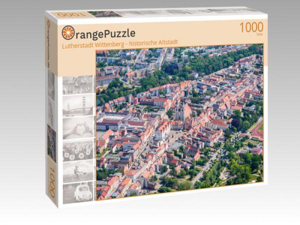 """Puzzle Motiv """"Lutherstadt Wittenberg - historische Altstadt"""" - Puzzle-Schachtel zu 1000 Teile Puzzle"""