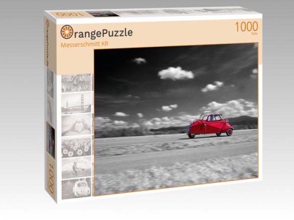 "Puzzle Motiv ""Messerschmitt KR"" - Puzzle-Schachtel zu 1000 Teile Puzzle"