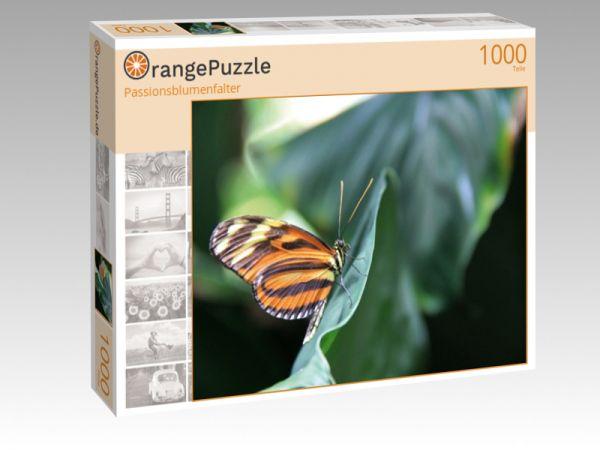 "Puzzle Motiv ""Passionsblumenfalter"" - Puzzle-Schachtel zu 1000 Teile Puzzle"