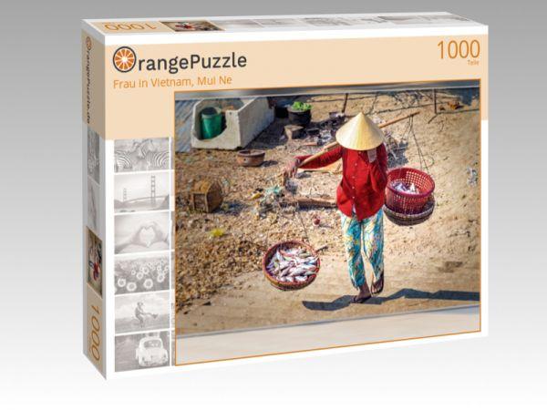 "Puzzle Motiv ""Frau in Vietnam, Mui Ne"" - Puzzle-Schachtel zu 1000 Teile Puzzle"