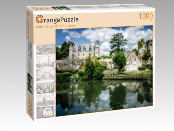 """Puzzle Motiv """"Indre-et-Loire: Montrésor"""" - Puzzle-Schachtel zu 1000 Teile Puzzle"""