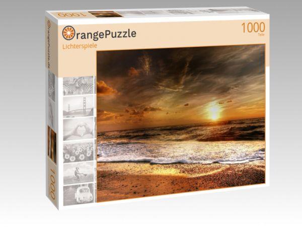"Puzzle Motiv ""Lichterspiele"" - Puzzle-Schachtel zu 1000 Teile Puzzle"