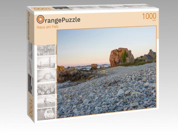"""Puzzle Motiv """"Haus am Fels"""" - Puzzle-Schachtel zu 1000 Teile Puzzle"""