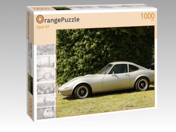 """Puzzle Motiv """"Opel GT"""" - Puzzle-Schachtel zu 1000 Teile Puzzle"""