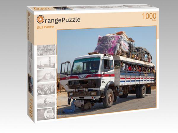 """Puzzle Motiv """"Bus Panne"""" - Puzzle-Schachtel zu 1000 Teile Puzzle"""