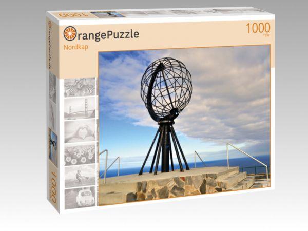 """Puzzle Motiv """"Nordkap"""" - Puzzle-Schachtel zu 1000 Teile Puzzle"""