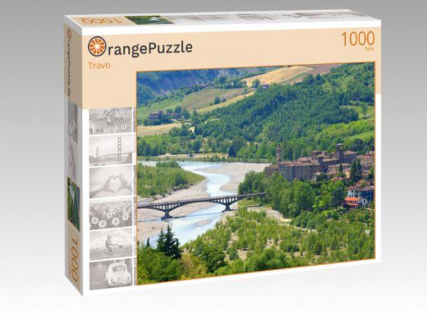 """Puzzle Motiv """"Travo"""" - Puzzle-Schachtel zu 1000 Teile Puzzle"""