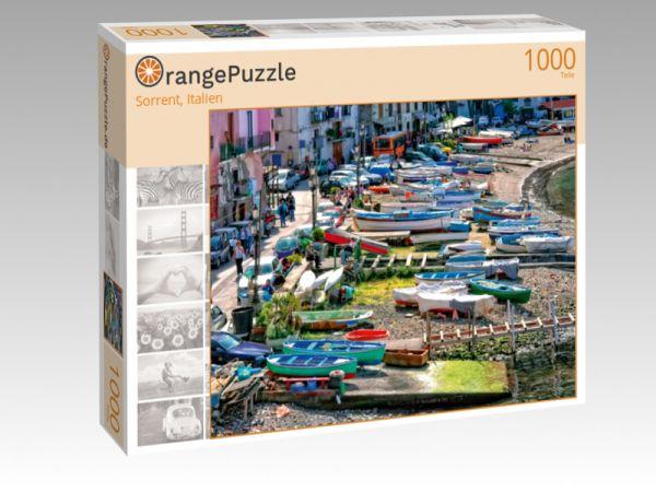 """Puzzle Motiv """"Sorrent, Italien"""" - Puzzle-Schachtel zu 1000 Teile Puzzle"""