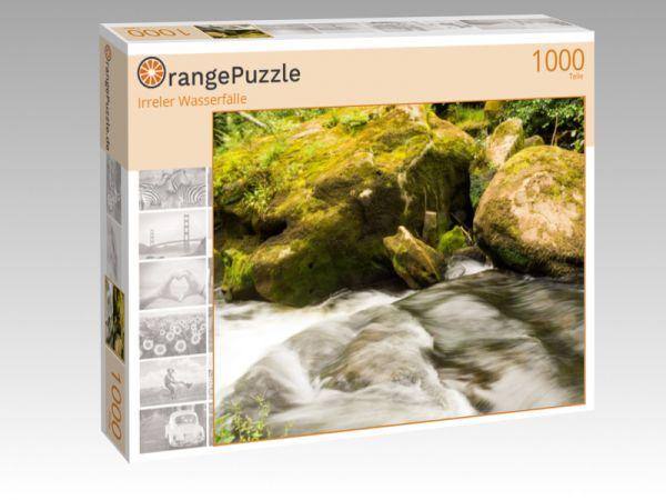 """Puzzle Motiv """"Irreler Wasserfälle"""" - Puzzle-Schachtel zu 1000 Teile Puzzle"""