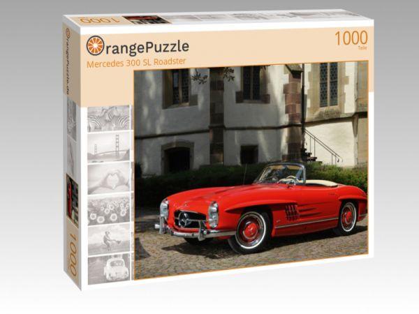 """Puzzle Motiv """"Mercedes 300 SL Roadster"""" - Puzzle-Schachtel zu 1000 Teile Puzzle"""