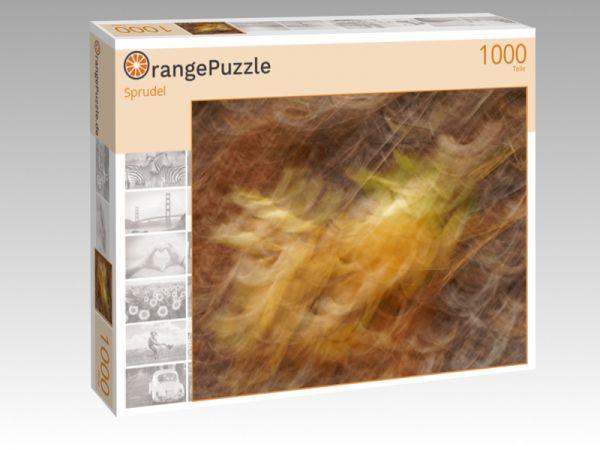 """Puzzle Motiv """"Sprudel"""" - Puzzle-Schachtel zu 1000 Teile Puzzle"""