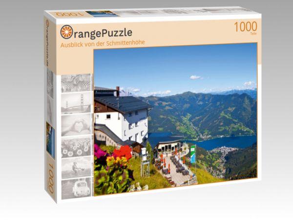 """Puzzle Motiv """"Ausblick von der Schmittenhöhe"""" - Puzzle-Schachtel zu 1000 Teile Puzzle"""