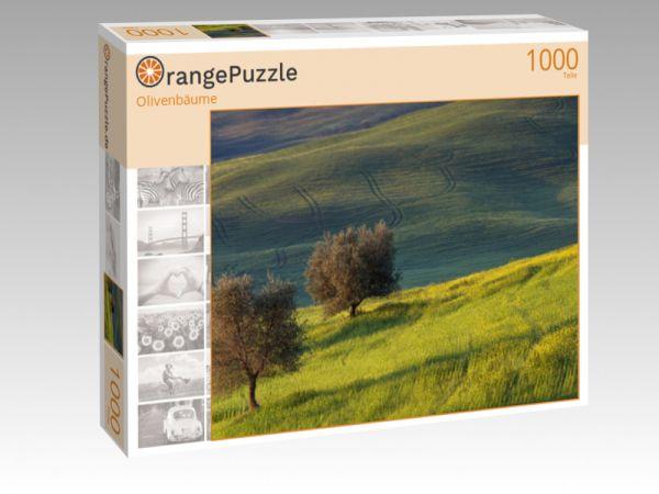 """Puzzle Motiv """"Olivenbäume"""" - Puzzle-Schachtel zu 1000 Teile Puzzle"""