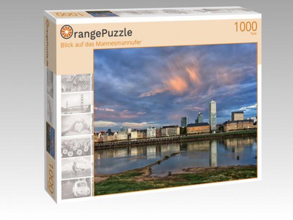 """Puzzle Motiv """"Blick auf das Mannesmannufer"""" - Puzzle-Schachtel zu 1000 Teile Puzzle"""