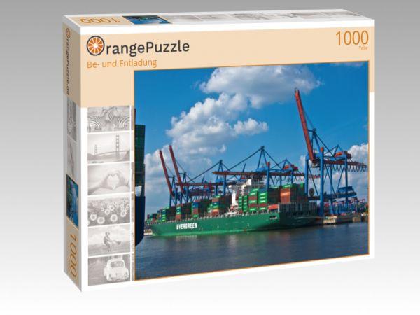 "Puzzle Motiv ""Be- und Entladung"" - Puzzle-Schachtel zu 1000 Teile Puzzle"