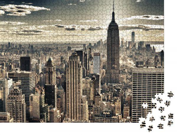 """Puzzle-Motiv """"HDR-Bild des New York City"""" - Puzzle-Schachtel zu 1000 Teile Puzzle"""