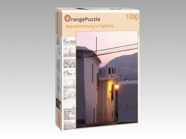 """Puzzle Motiv """"Abendstimmung in Capileira"""" - Puzzle-Schachtel zu 1000 Teile Puzzle"""